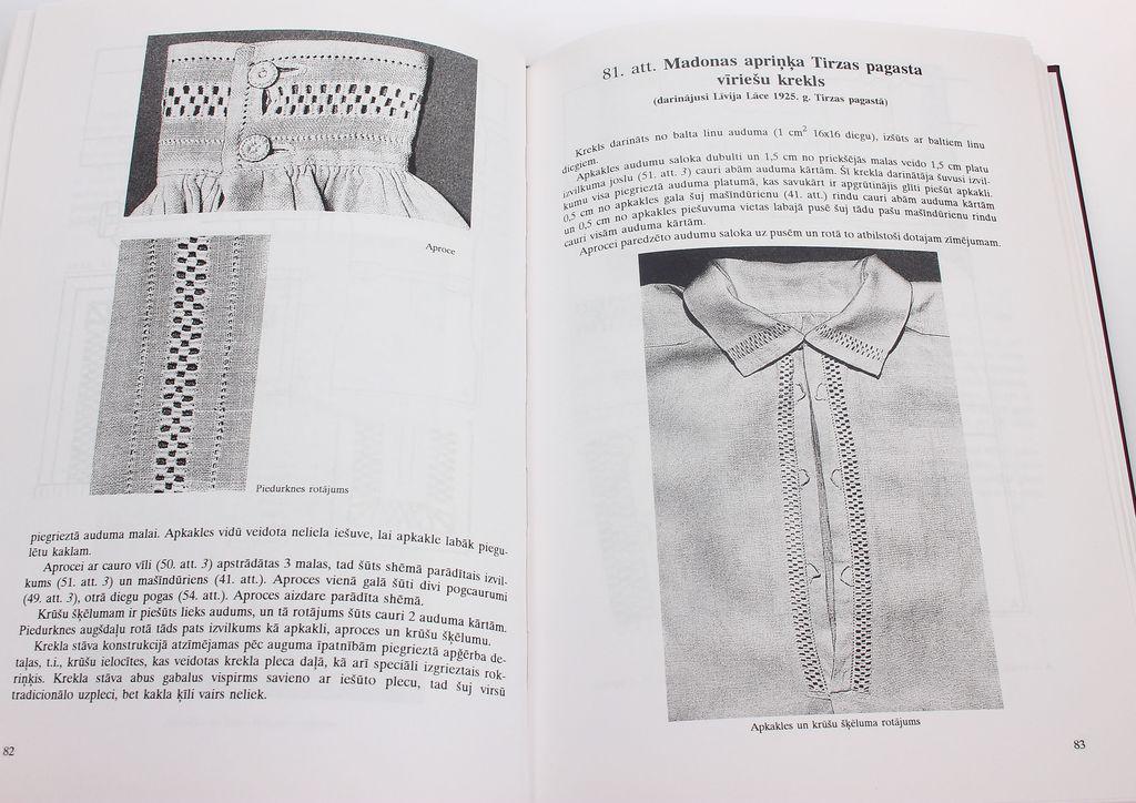Aija Jansone, Tautas tērpa krekli Vidzemē