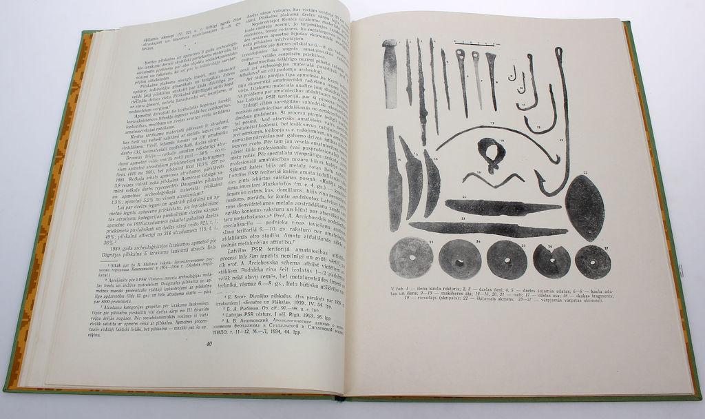 Archeoloģija un etnografija I