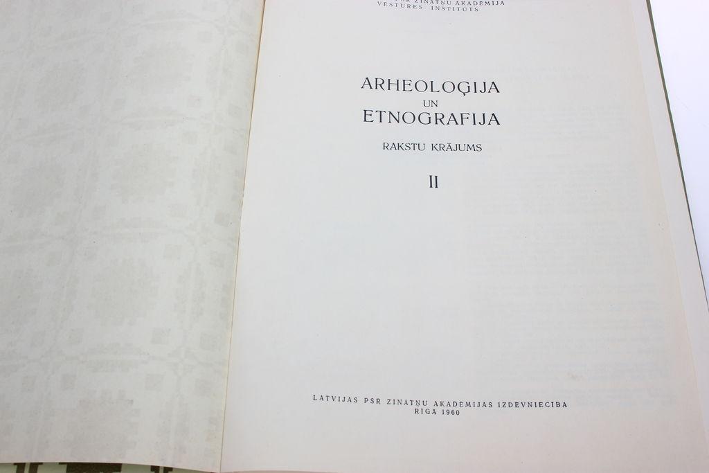 Archeoloģija un etnografija II