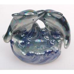 Porcelain figurine / Dolphin