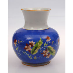 Porcelain vase with painting