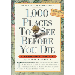 Patricia Schultz, 1,000 places to see before you die