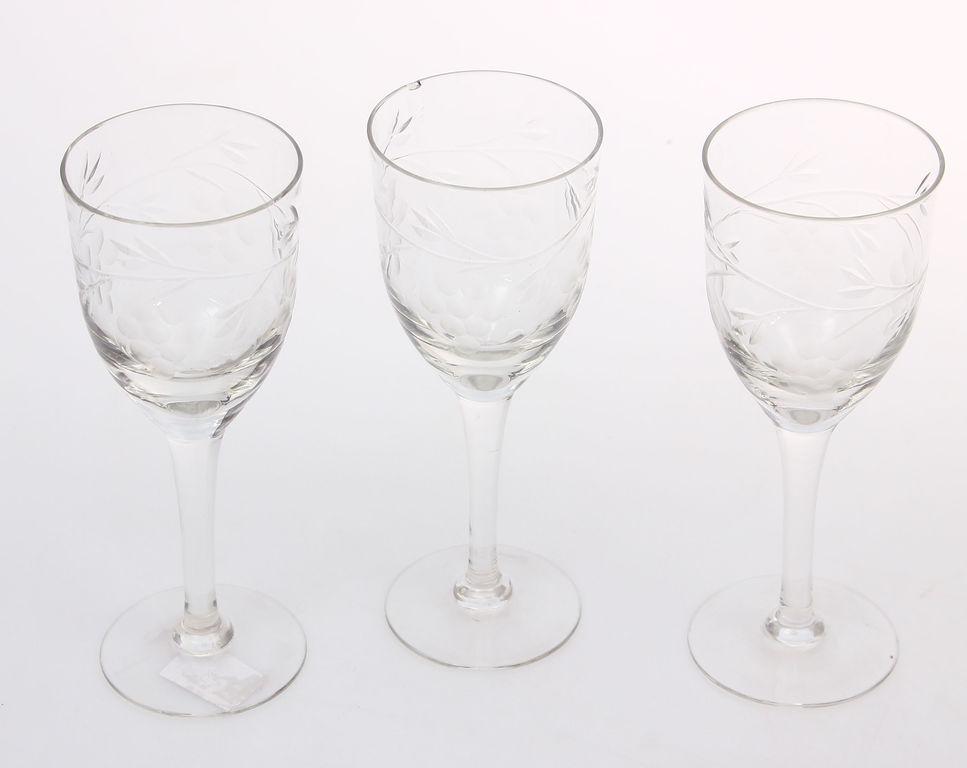 Stikla glāzītes 3 gab.
