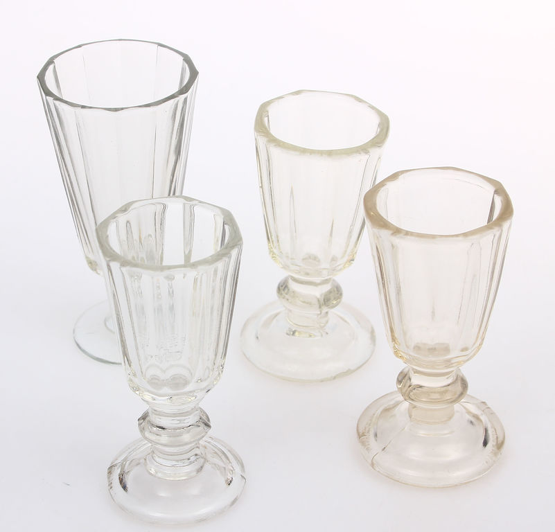 Stikla glāzītes 4 gab.
