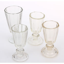 Glass glases 4 pcs.