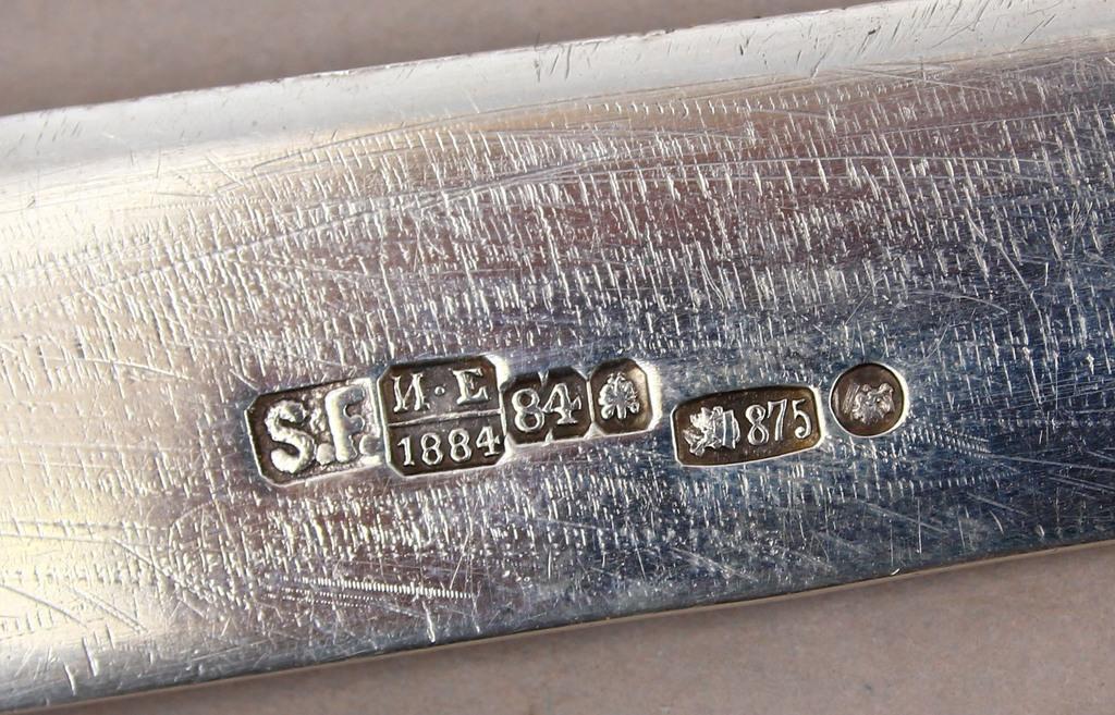 Silver knife