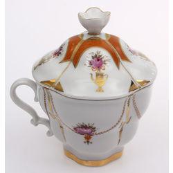 Porcelain sugar-basin