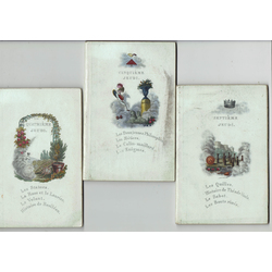 Books in French with engravings (3 pcs.)