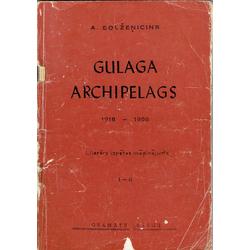 A.Solžeņicins, Gulaga archipelags, I-II, III-IV