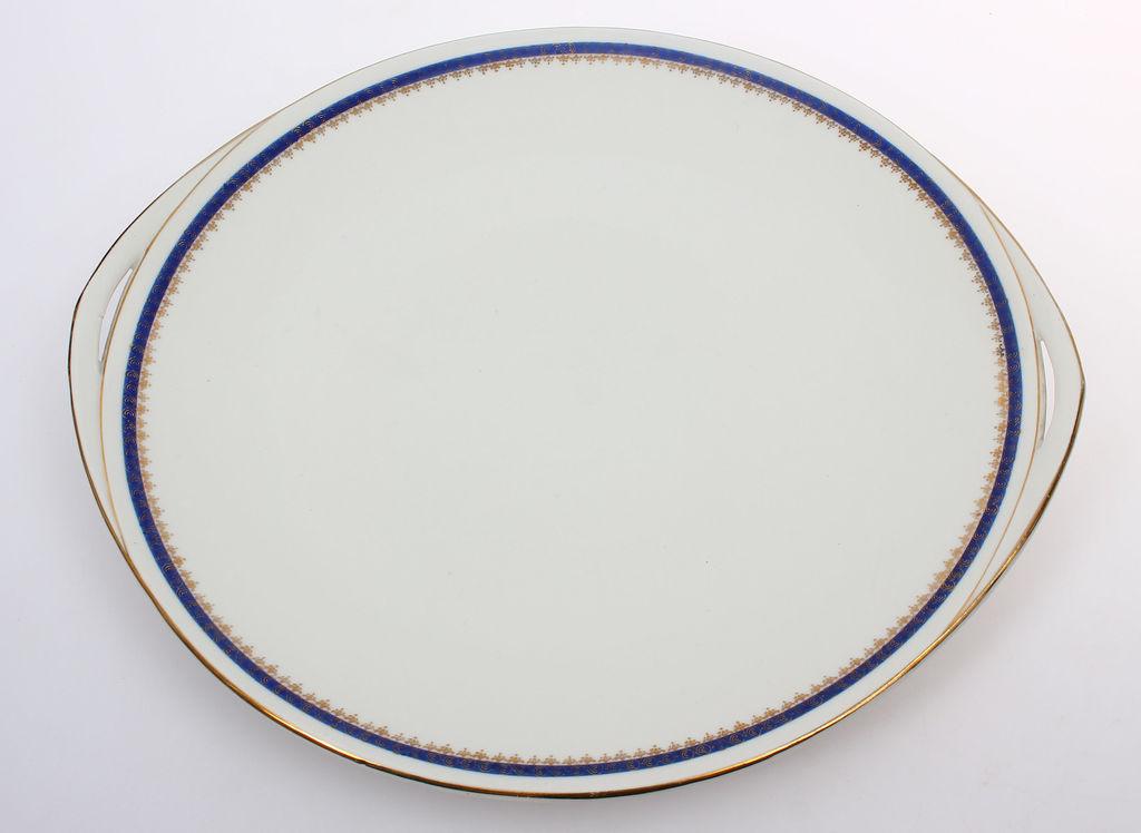 Porcelāna servējamais šķīvis