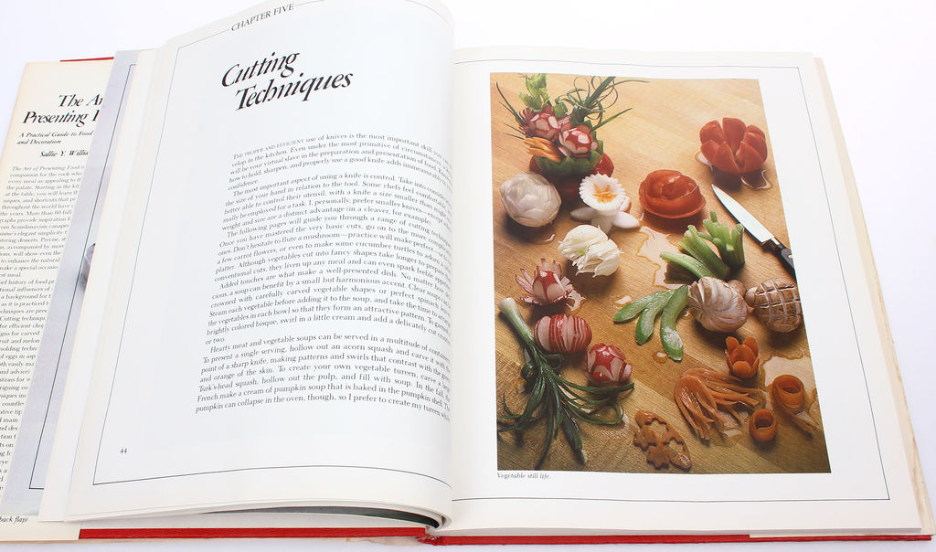 The art of presenting food, Sallie Y.Williams