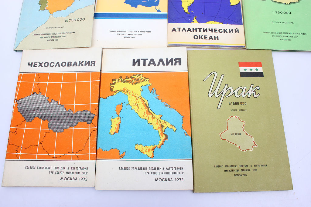 Dažādas kartes (11 gab.)