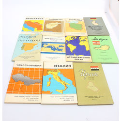 Different maps (11 pcs)