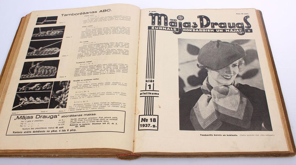 Žurnāls rokdarbiem un mājai