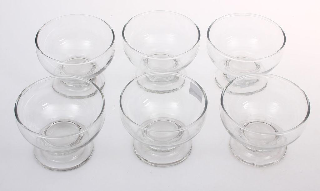 Stikla saldējuma trauciņi 6 gab.