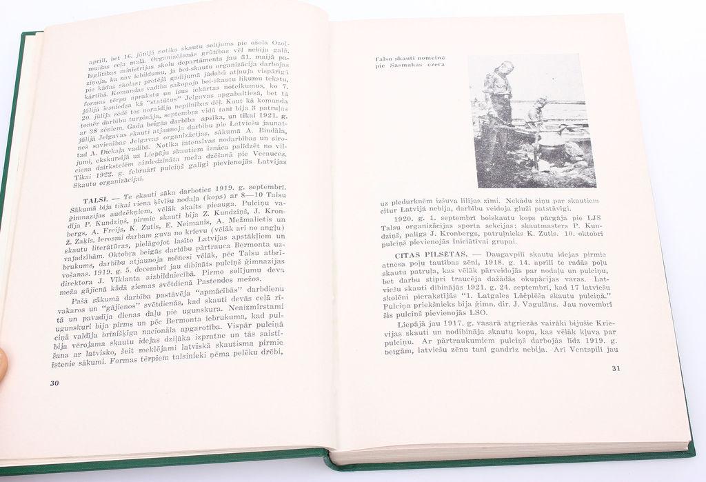 V.Klētnieks, Latviešu skautisma četrdesmit gadi(1917-1957)