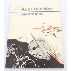 Anna Rancāne, Piektdiena(with author autograph)