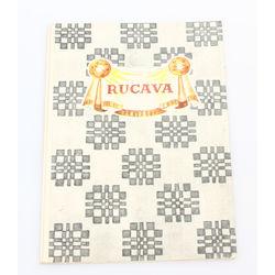Buklets-Rucavas novada tautastērps