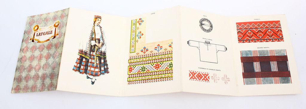 Buklets - Latgales vidienes sieviešu tautastērps