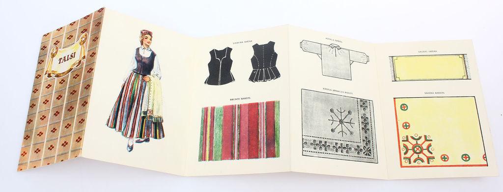 Buklets- Talsu novada sieviešu tautastērps