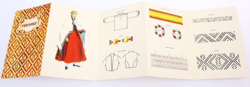 Buklets - Ventspils novada sieviešu tautastērps