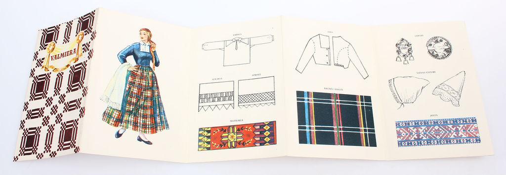 Buklets - Valmieras novada sieviešu tautastērps