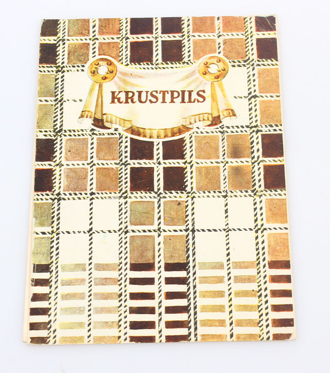 Buklets - Krustpils  novada sieviešu tautastērps