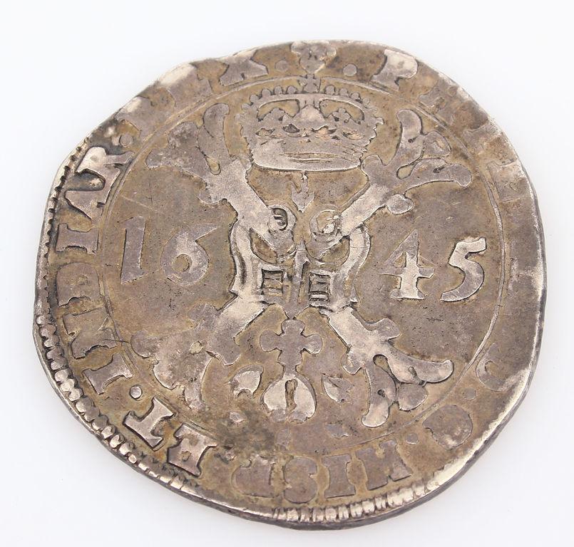 Sudraba monēta 1645