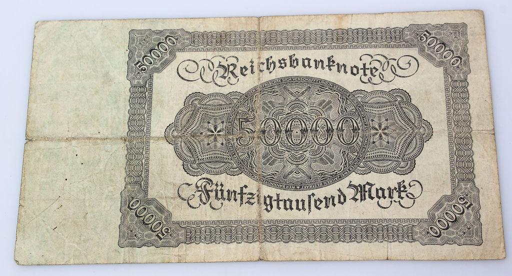 Reiha banknote  50 000 markas