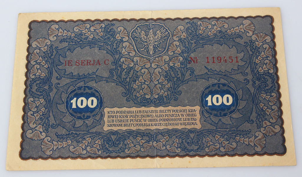 100 poļu markas