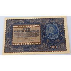 100 польских марок