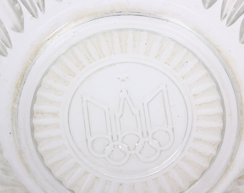 Glass fruit bowl (Olympic Games-themed)