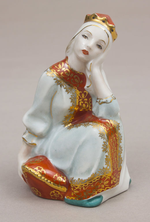"Porcelāna figūra ""Princese Nesmejana (Cariene Nesmejana)"""