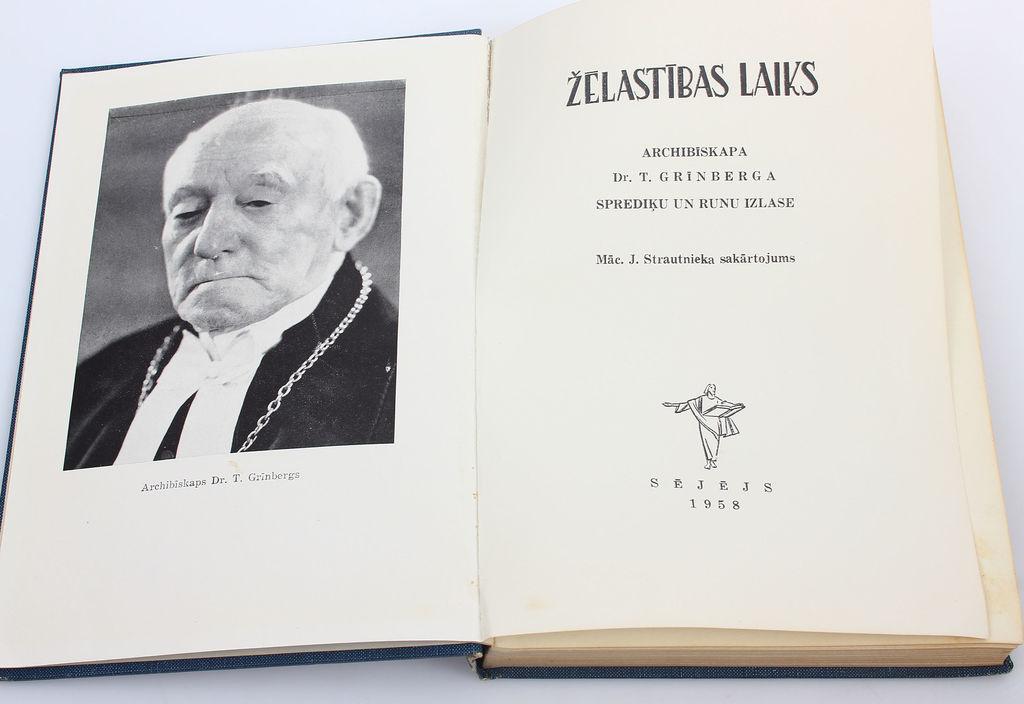 Žēlastības laiks(arhibīskapa T.Grīnberga sprediķu un runu izlase)