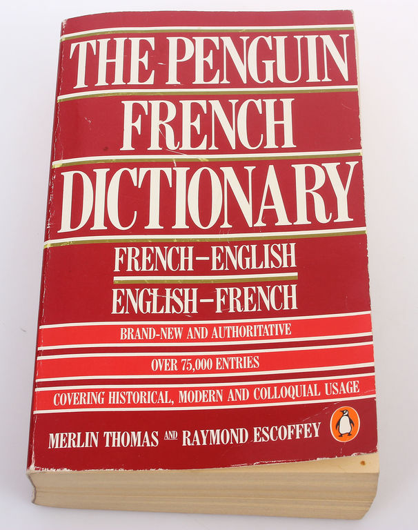The Penguin french dictionary, French-english, english-french