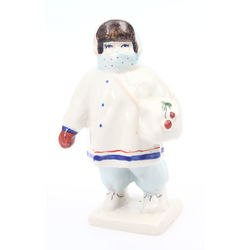 "Porcelain figure ""Ukutish"""