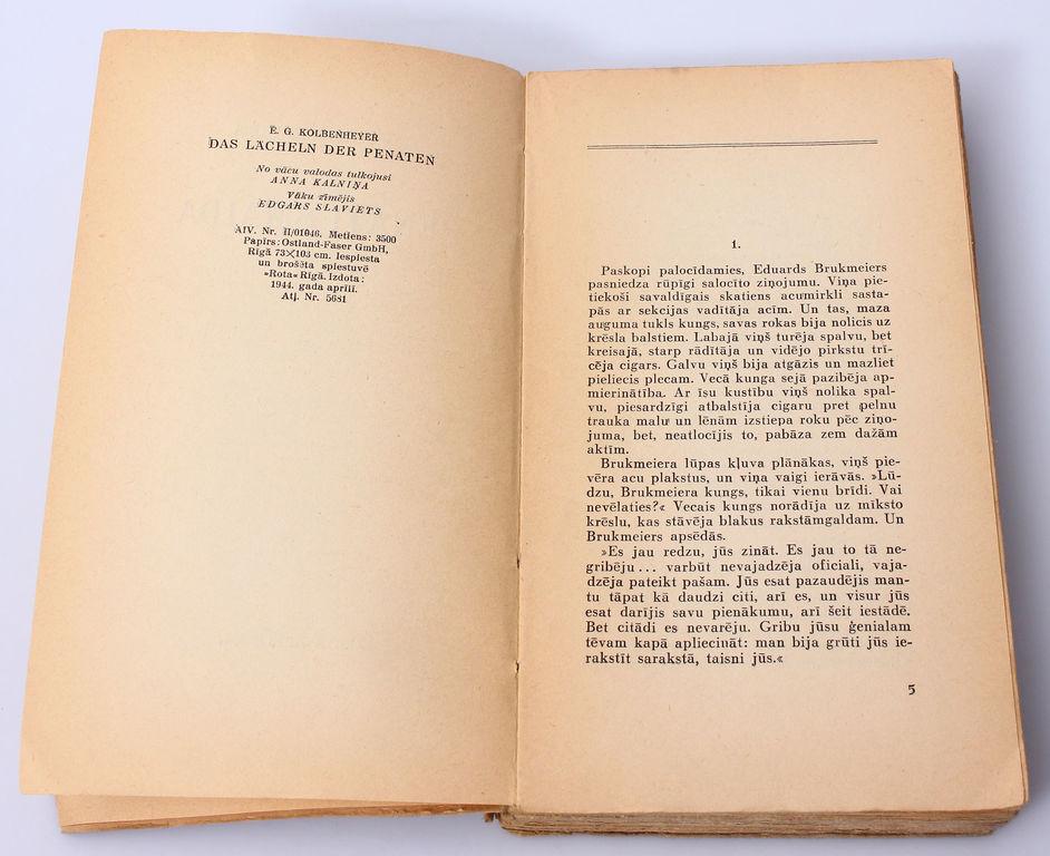 E.G.Kolbenheyer's, Penati Smaida
