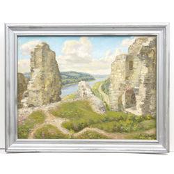 Руины Кокнесского замка