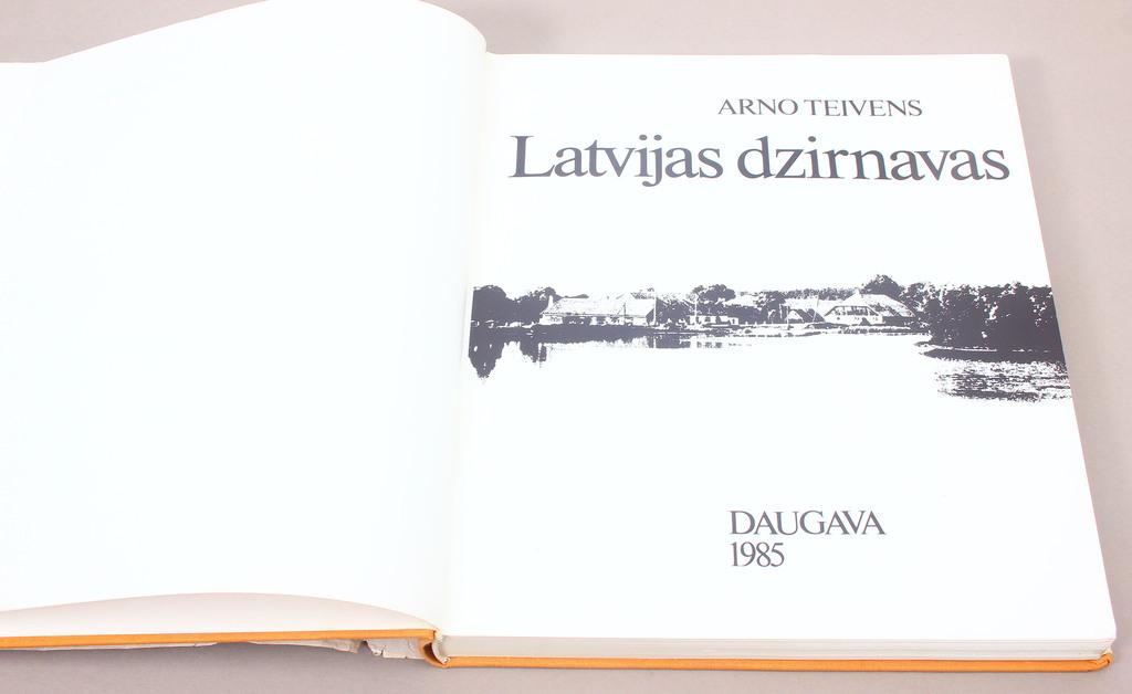 Arno Teivens, Latvijas dzirnavas