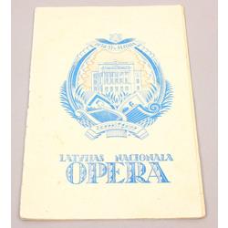 Latvijas Nacionālā opera, No. 75