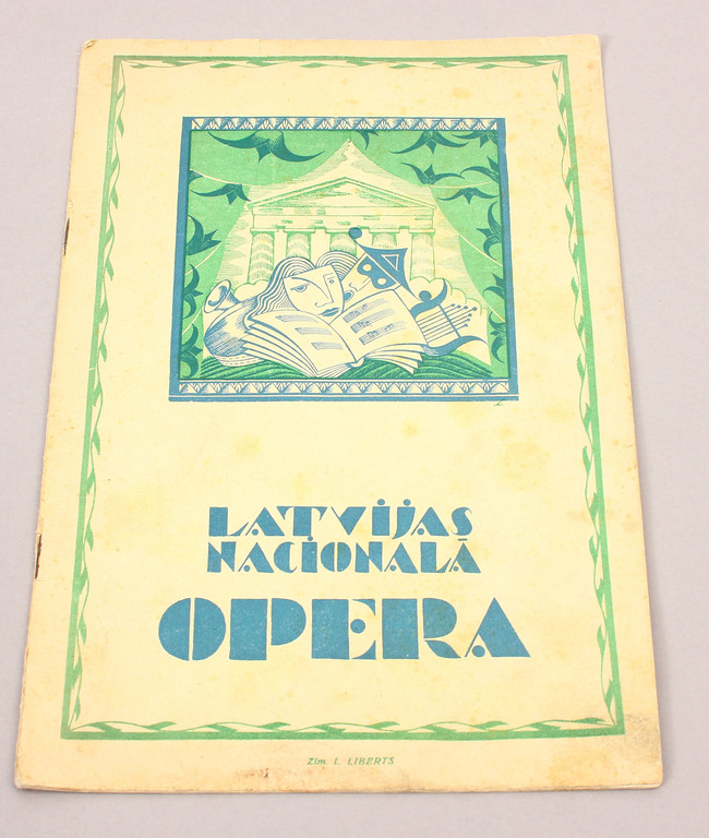 Latvijas Nacionālā opera, No. 10