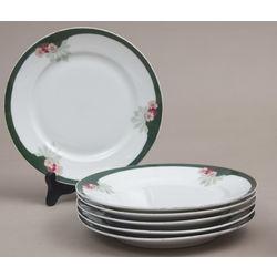 Porcelain plates 6 pcs