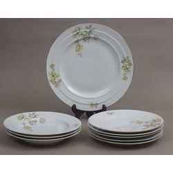 Фарфоровые тарелки 8 + 1
