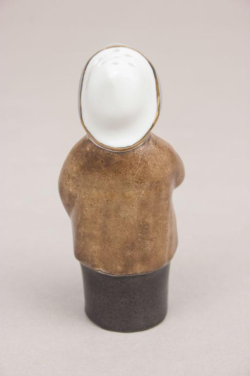 Porcelain saltshaker