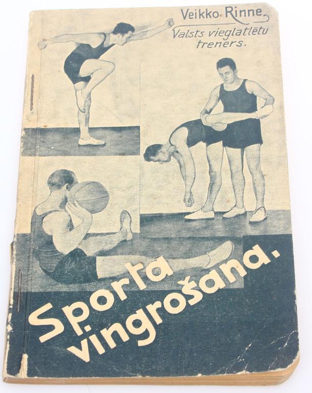 Veiko Rinne, Sporta vingrošana