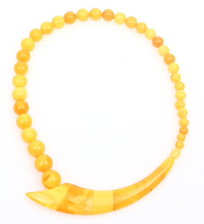 100% Natural Amber Necklace