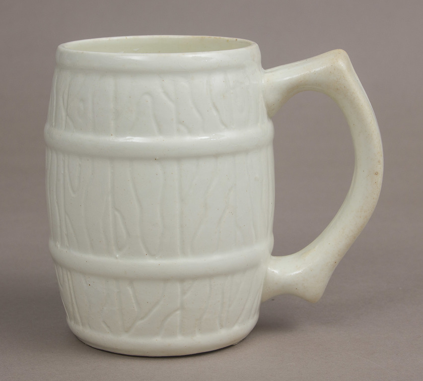 Faience Beer Cup