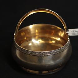 Серебряная миска