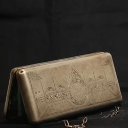 Серебряная сумка