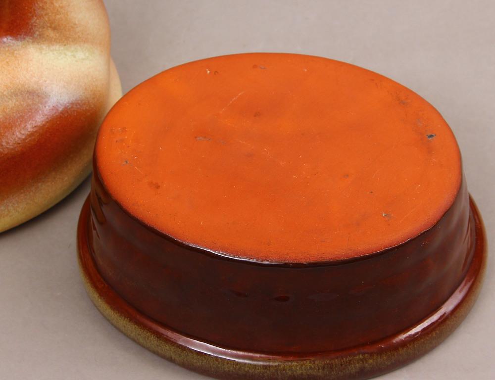 Ceramic dish with lid
